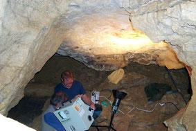 3D scan en Cueva Fuente del Salín