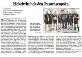 Sächsische Zeitung 29.10.2015