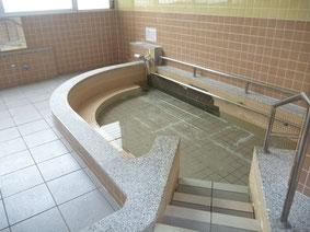 ボイラーの故障で休止となっている浴場