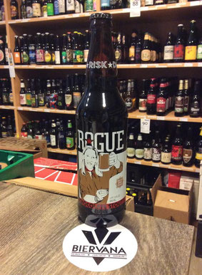 Chocolate Stout Bier von Rogue aus Oregon / USA