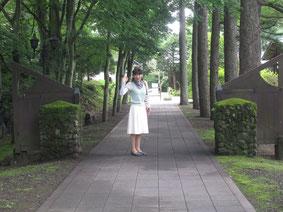 別所温泉に向かう途中、追分の堀辰夫記念館へ