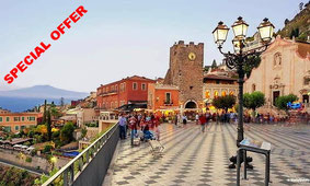 Private Tour of Taormina, Castelmola with Food and Wine Tasting