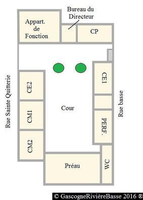 Ecole primaire élémentaire Olléris Plaisance du Gers