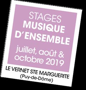 Stage Musique d'ensemble au Gîte le Marguerite