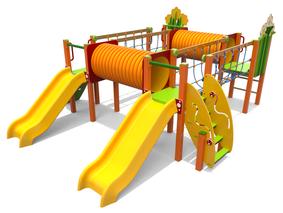multifunzione campo Scivolo Ciuffo ponte corde, giochi per parco, giochi per parchi, attrezzature per parchi gioco, strutture ludiche Stileurbano Ciuffo Baobab certificati Norma EN1176 CATAS stileurbano oratorio FOM odielle abbiategrasso