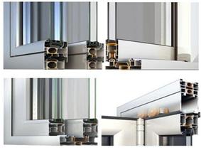 aluminium double vitrage