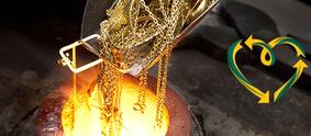 Das Recycling von Gold ist wichtig für den Schutz der Umwelt.
