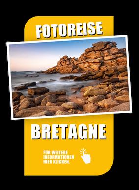 Fotoreise Bretagne, Rosa Granitküste