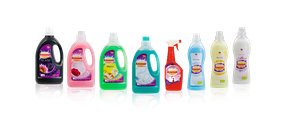 Wir sind im Bereich Herstellung und Vermarktung von Wasch- und Reinigungsmitteln tätig.