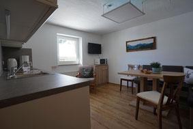 Küche Ferienwohnung 2 Haus Panorama