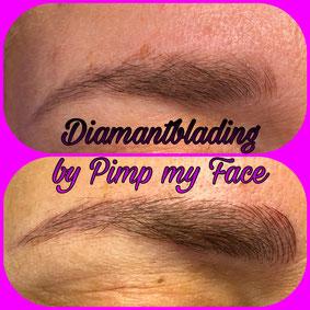 Diamantblading - Augenbrauen - Pimp my Face Hamburg Bramfeld