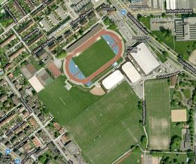 Sportpark Deutweg and surrounding sports facilities