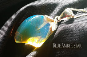 blue amber jewellery