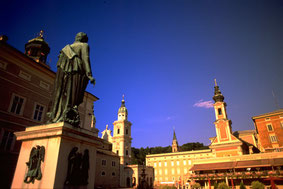 Salzburg Mozart Square