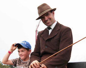 Bernhard mit Sohn Michael
