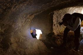 OmoGirando la necropoli di Castel d'Asso
