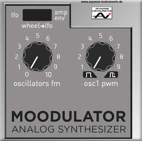 MOODULATOR - Mod VCA Module