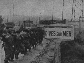L'entrée de la Brigade Piron le 21 Août 1944