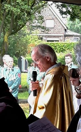 Fronleichnam 2019 Prof. Lüke Friedhof Nütheim Schleckheim Oberforstbach