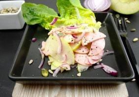 Wurst-Apfel-Salat