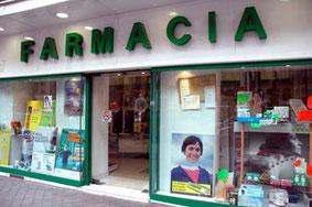 "Devanture d'une ""farmacia"""