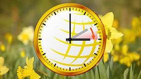 Langschläfer aufgepasst: Am 25. März wird die Nacht eine Stunde kürzer. Quelle: WetterOnline