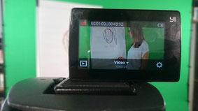 Videoscreen bei Aufzeichnung