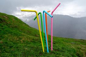 Straws // 2016 (Künstlerkollektiv QUATER/THREE)