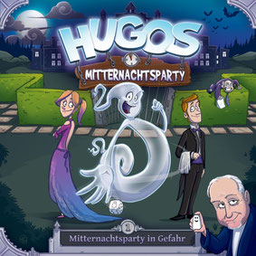 CD-Cover Hugos Mitternachtsparty - Folge 1 - Mitternachtsparty in Gefahr