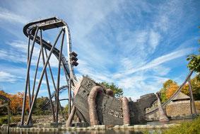 Heide Park - Krake - Deutschlands erster Dive Coaster