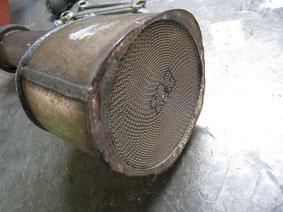 ベンツ W220 触媒修理