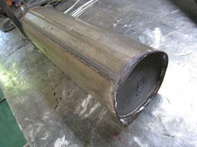 ベンツ W210 E400 触媒修理
