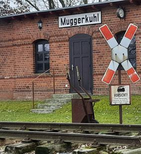 Muggerkuhl, Bahnhof. Foto: J. de Gruyter