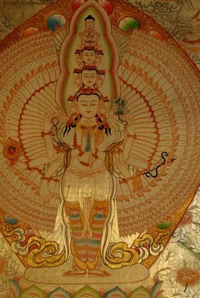 1000armiger Avalokitesvara - Buddha für Liebe & Mitgefühl