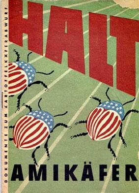 Propaganda-Plakat aus der frühen DDR (Sammlg. O. Wittich)