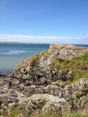Sommer auf Islay  mit Blick auf Loch Indaal