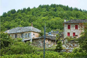 Traditional stone houses in Megalo Papigo