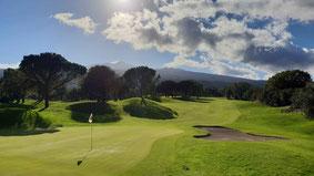 Golf mit Blick auf den Ätna im Piccioli Golf Resort - © Kai Wunner