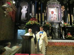 Messe bei der Schwarzen Madonna