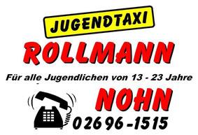 Jugendtaxi Fahrdienst, Rollmann, 54578 Nohn