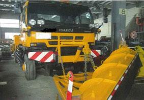 除雪トラック 4x4