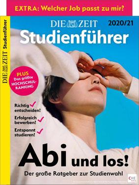 """ZEIT Studienführer Magazin 2021 """"Abi und los?"""""""
