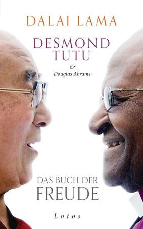 Das Buch der Freude von Dalai Lama, Desmond Tutu und Douglas Abrams - Buchtipp