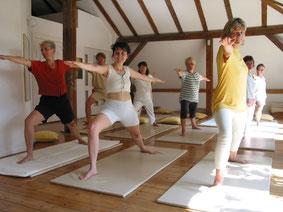 Asana im Yogaunterricht