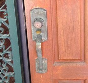 サムラッチ錠の写真