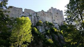 Burg Weißenstein, Oberburg
