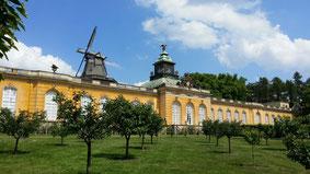 Schlosspark Sanssouci, Neue Kammern