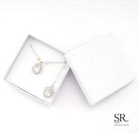 Braut Ketten silber roségold gold Rückenkette edel hochwertig Perlen
