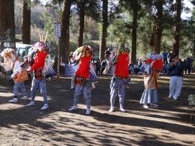 2012年11月畔宇治神社獅子舞奉納2