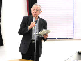 ⑥髙栁理事長あいさつ
